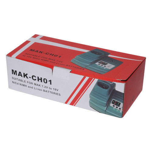 Max Charger for Makita DC18RA DC18SC DC1803 DC14SA 7.2V-18V Ni-CD/Ni-MH/ Li-ion image 3