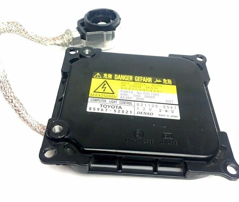 OEM Denso Hid Ballast Toyota Lexus Xenon Headlight Module 85967-52021 Used  - $49.49