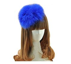 Beautiful Charming Feather Hairpin for Parties/Stage/Wedding,Blue