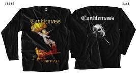CANDLEMASS - Nightfall-Black T-shirt Long Sleeve(sizes:S to 5XL) - $18.50+