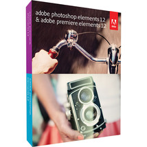 ADOBE Photoshop Elements and Premiere Elements 12 BRAND NEW  - $49.95