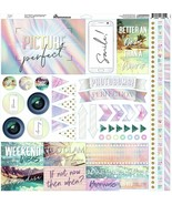 """Reminisce Elements Cardstock Stickers 12""""X12""""-Picture Perfect - $9.75"""