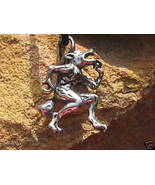 Haunted Lycan Werewolf Pendant of rare supernatural powers of the full moon - $49.99
