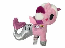 """Aurora World Tokidoki 10"""" Plush Gelatina Mermicorno Pink Unicorn Mermaid - $19.30"""