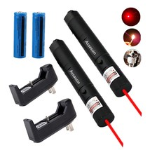 2x 10Mile Red Laser Pointer Pen 5mw 650nm Powerful Burning Laser+Battery... - $2,599.00