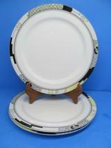 "Mikasa Ultima Scenario 10 5/8"" Dinner Plates Set Of 3 Plates - $38.22"