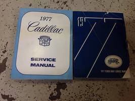 1977 Cadillac Eldorado Fleetwood Deville Shop Service Reparatur Manuell Set - $49.45