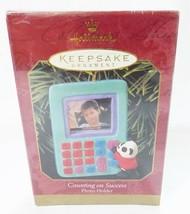Hallmark keepsake christmas ornament counting on success photo holder - $9.60
