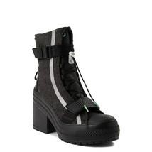 Neuf Femmes Converse Noir Glace Chuck Tailleur Tout Étoile GR82 Botte Pl... - $163.19
