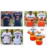 Men's Houston Astros #2 Alex Bregman Flex Base Series Jersey - $40.99