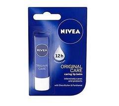 Nivea Lip Balm Original Care Soft And Smooth Lips 4.8 g. - $9.38