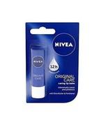 Nivea Lip Balm Original Care Soft And Smooth Lips 4.8 g. - $9.38