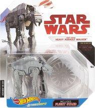 Star Wars Hot Wheels Starships - First Order Heavy Walker - $12.99