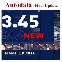 Autodata 3.45 version car software Latest version  year Auto repair soft... - $9.99