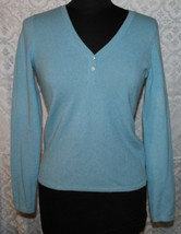Cashmer Collection Fiftynine Bloomingdales 100% Womens Sweater Sz S V-ne... - $25.74