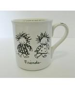 Enesco Children of the Inner Light Marci Friends Coffee Cup Mug Papel Gi... - $14.73