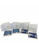 "HAL Holland America Line 4 Blue Delft Tile COASTERS 4"" x 4"" Box Certific... - $39.59"