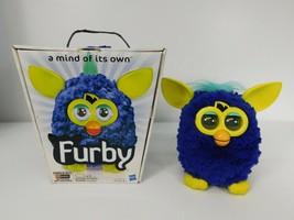 Furby Mind of its Own Talks and Moves Blue and Yellow RARE 2012 Hasbro - $45.49