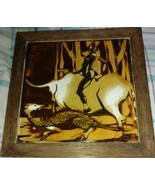 LIEBERMANN POTTERY PILKINGTON ART TILE THE BIRD MADENS BANTU Folklore F... - $37.36