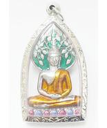 Thai Amulets Phra Prog Poh Amulets Lucky Buddha Thai Buddhism Amulets Collection - $128.88