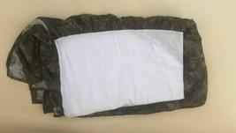 Ralph Lauren Olive Green Paisley Bedskirt Queen Dust Ruffles - $32.65