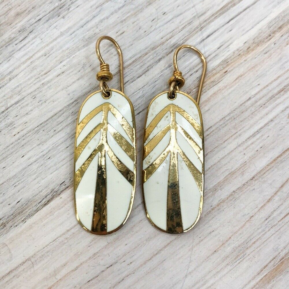 Women's Laurel Burch Gold Tone Dangle Drop Earrings - $24.12