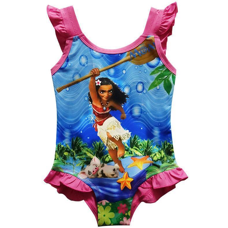 Kids Girls Moana Swimming Bikini Swimsuit And 20 Similar Items. S L1600