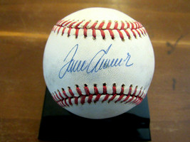TOM SEAVER HOF 1969 WSC METS SIGNED AUTO VINTAGE GAME USED ONL BASEBALL JSA - $494.99