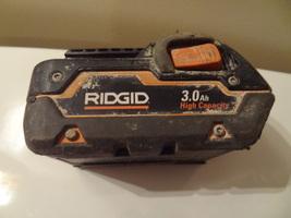 RIDGID 18V  HYPER LITHIUM ION  LI  BATTERY  CORDLESS RECHARGABLE R840083 - $25.99