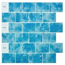 "(Ship from USA)Cocotik 12""x12"" Self Adhesive Peel Mosaic Wall Vinyl Backsplash S image 3"