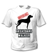 GREAT DANE 2 - OFFICIAL WALKER - NEW COTTON WHITE TSHIRT - $19.59