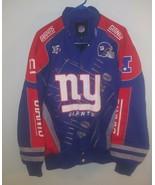 NEW YORK GIANTS NFL SCOREBOARD Bomber JACKET Sz Medium NYG NFL Pro Shop - $98.99