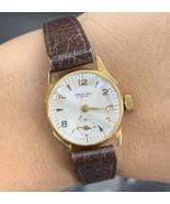 Vintage Gold Watch 18k Ladies Watch EXCELLENT 17 Jewels Antique - $813.28