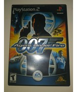 James Bond 007 in Agent Under Fire CIB PlayStation 2 PS2 - Complete- Tested - $11.87