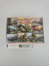 2010 THOMAS KINKADE PAINTER OF LIGHT COLLECTORS EDITION 10 JIGSAW PUZZLE... - $26.99