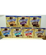 Millville Elevation Protein Bars Carb Conscious Full 7 Variety Flavors B... - $75.00