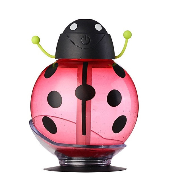 USB Beetle Humidifier - Aroma Essential Oil Diffuser 3 colors