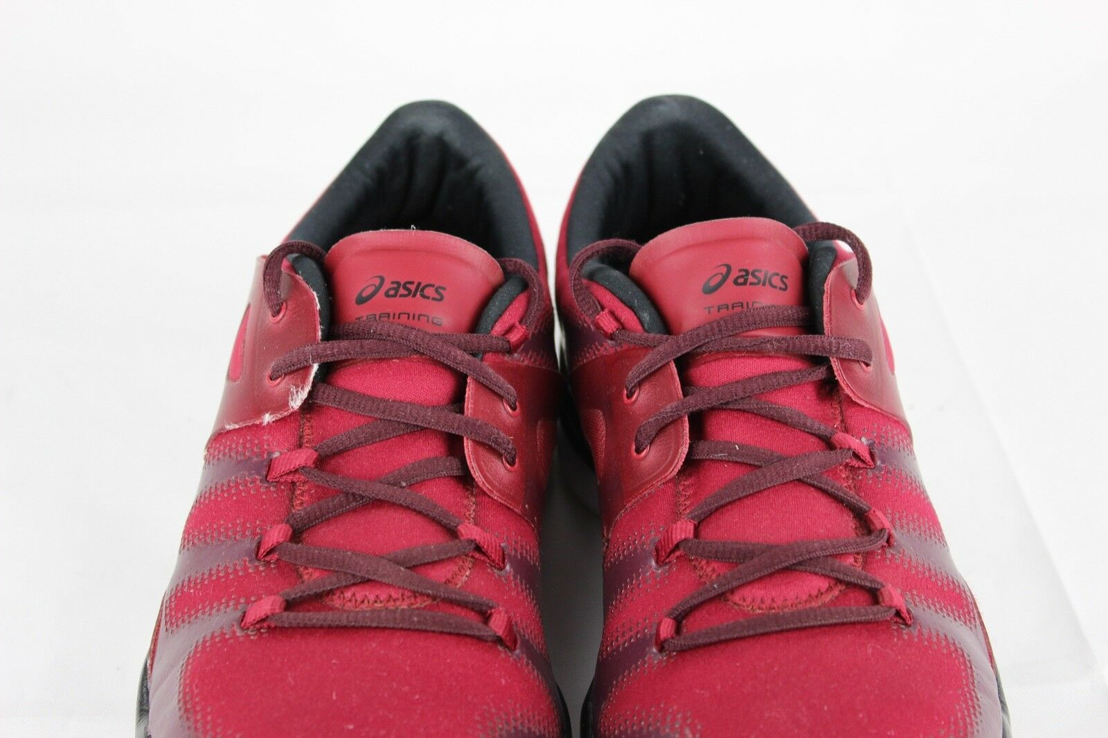 Asics Gel Passform Vida Damen Schuhe Rot Laufen Training Sneakers Schnürsenkel image 4