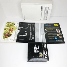 Beachbody P90X Extreme Home Fitness Complete 12 DVD Workout + Books + Bo... - $74.24