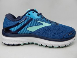 Brooks GTS 18 Size 7 D WIDE EU 38 Women's Running Shoes Blue Teal 1202681D495