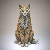 "15"" Sitting Cat Sculpture by Edge Sculpture - Stunning Piece image 1"