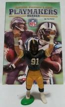 Play Makers Reader Book + Pittsburgh Steelers Vintage 1980 Kevin Green Figure - $12.00