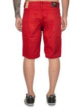 Marx & Dutch Men's Moto Biker Quilted Slim Fit Cotton Stretch Twill Shorts image 13
