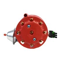 Pro Series R2R Distributor for Ford SBF 260 289 302 V8 Engine Red Cap image 4