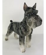 """Snatty The Kennel Club Schnauzer by Shafford Dog Statue Figure 12"""" - $74.24"""