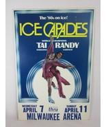 1980's Ice Capades Skating Champions Tai Babilonia and Randy Gardner Poster - $69.29