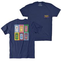 Natty Light Warhol Rowdy Gentleman Navy Tee Shirt Blue - $36.99