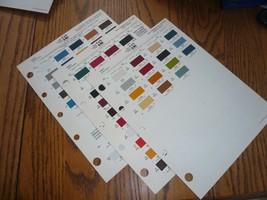 1979 Dodge Ford General Motors Ditzler PPG Color Chips Paint - $14.49
