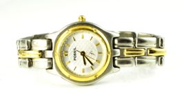 """Women's Fossil ES8647 Two Tone Stainless 26mm Metallic Dial 6"""" Wrist - ₨671.02 INR"""