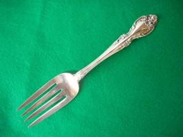 """Vintage Gorham STERLING Melrose Cold Meat Fork 8 1/8"""" - $84.10"""